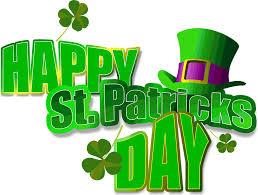 Happy Saint Patrick's day !