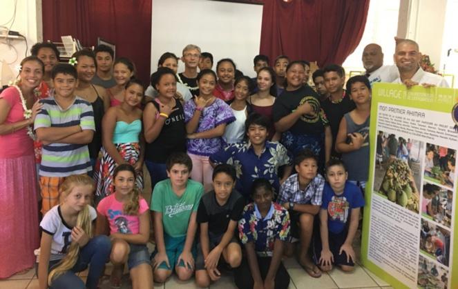 La classe de 6è A remporte le 3è prix du Village de l'Alimentation